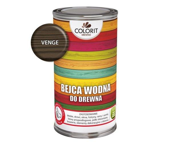 Colorit Bejca Wodna Do Drewna 1L VENGE WENGE do