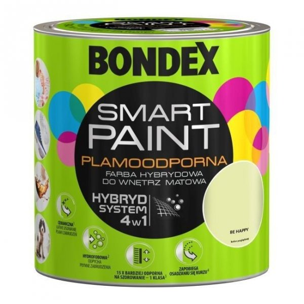 Bondex Smart Paint 2,5L BE HAPPY