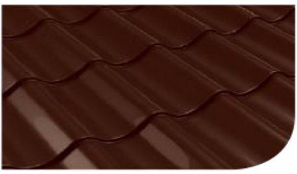 Śnieżka na dach Brązowy Ciemny 0,75L RAL8017 farba