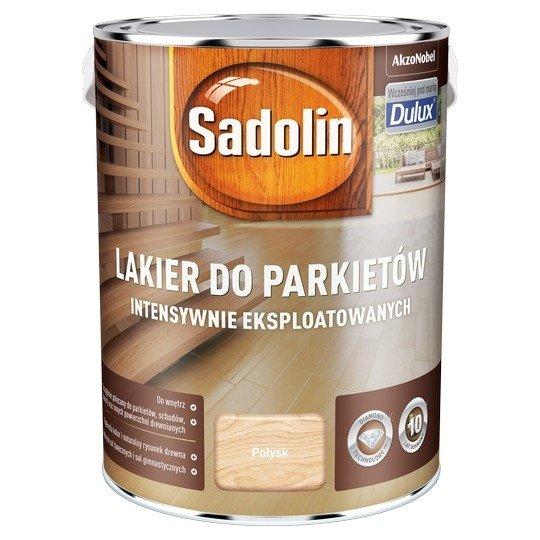 Sadolin Lakier Diamond POŁYSK 5L parkietu Dulux drewna intensywnie eksploatowanych