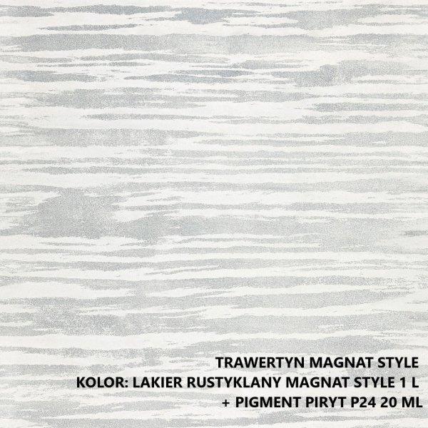 MAGNAT STYLE Trawertyn  3kg drobnoziarnisty tynk