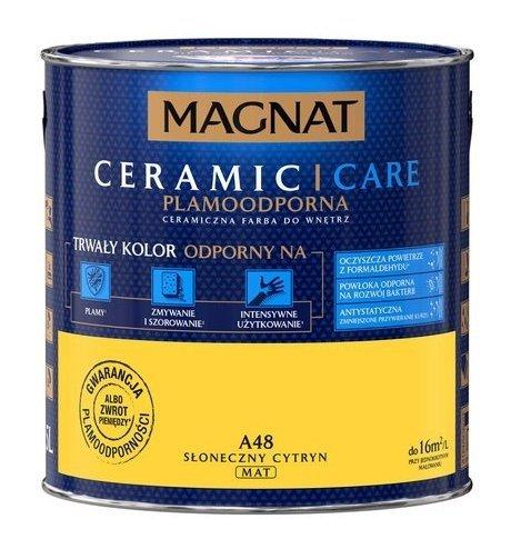 MAGNAT Ceramic Care 2,5L A48 Słoneczny Cytryn