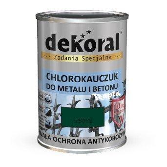 Dekoral Chlorokauczuk 0,9L ZIELEŃ MCHU RAL6005 farba emalia