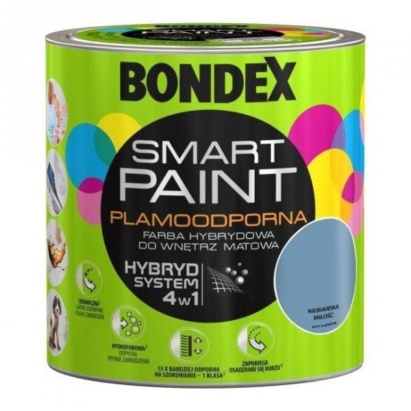 Bondex Smart Paint 2,5L NIEBIAŃSKA MIŁOŚĆ