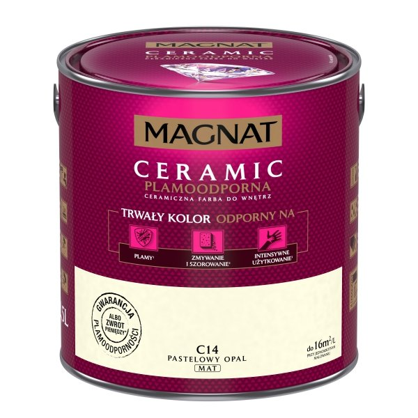 MAGNAT Ceramic 2,5L C14 Pastelowy Opal