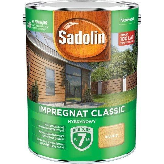 Sadolin Classic impregnat 4,5L DĄB JASNY 57 drewna clasic