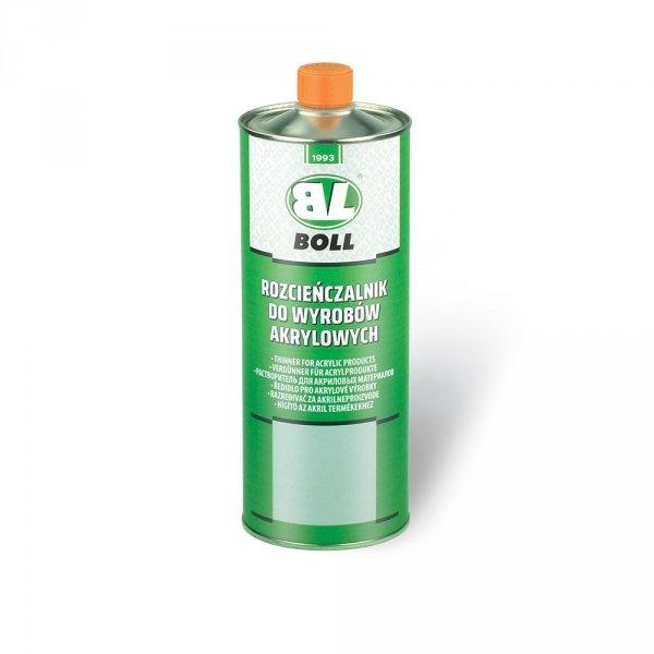 BOLL Rozcieńczalnik do wyrobów akrylowych 1L rozpuszczalnik