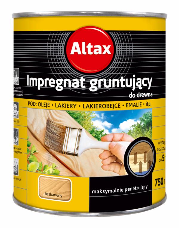 Penetrin Impregnat Gruntujący Drewna 0,75L Altax