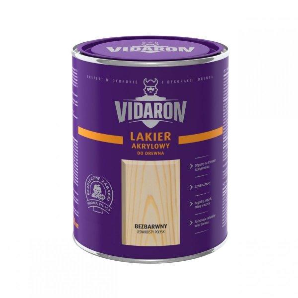 Vidaron Lakier akrylowy bezbarwny wodny 10L