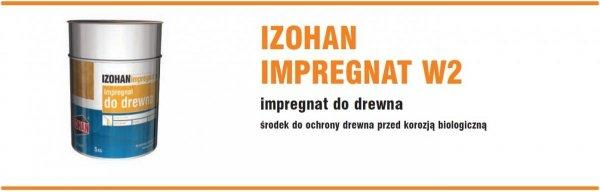 Izohan W2 5L Impregnat drewna gontów do Imprex W2