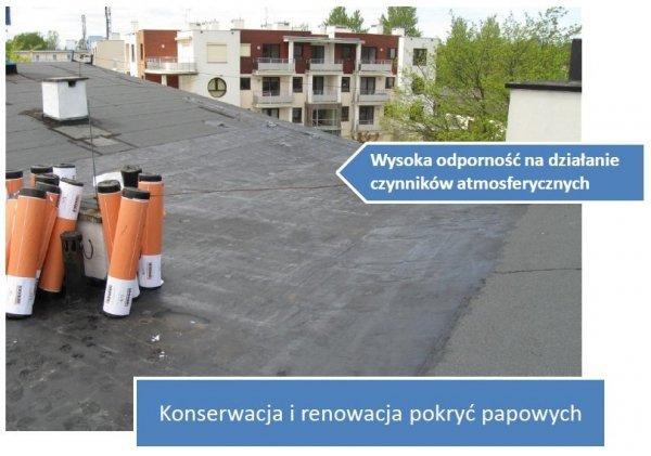 Izohan B 10L dodatek do Izohan W2 masa asfaltowo-żywiczna do konserwacji i renowacji papowych pokryć dachowych