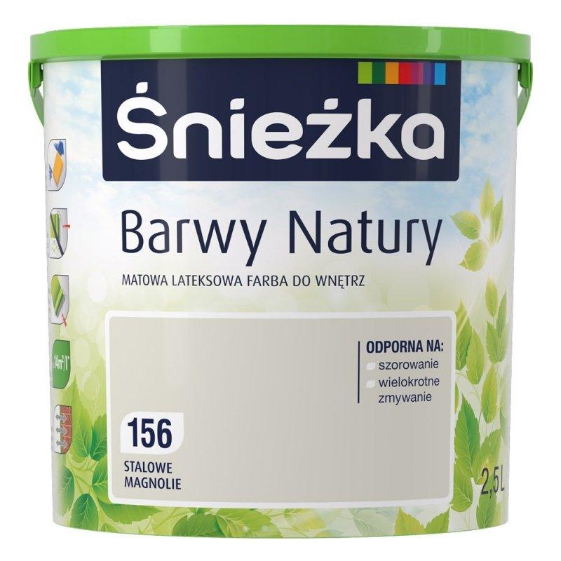 Śnieżka Barwy Natury 2,5L Stalowe Magnolie 156 Farba
