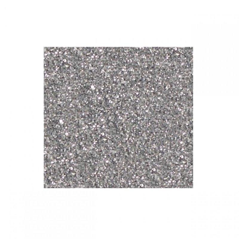 Brokat Srebrny Srebro 0,3mm  20g do farb, tynków a8