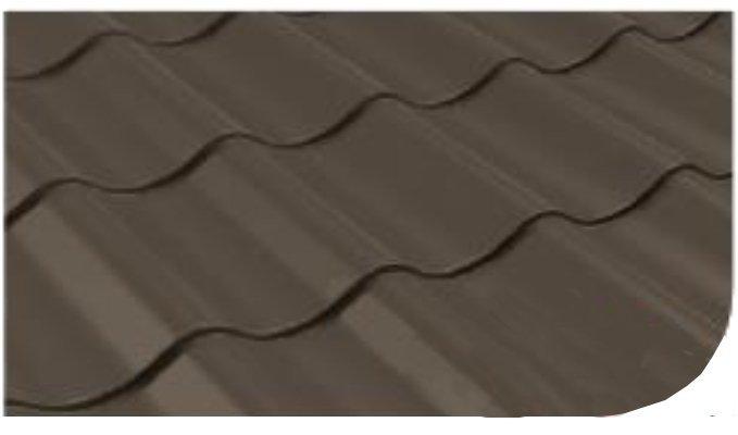 Śnieżka na dach farba Szaro-brązowy 5L RAL 8019