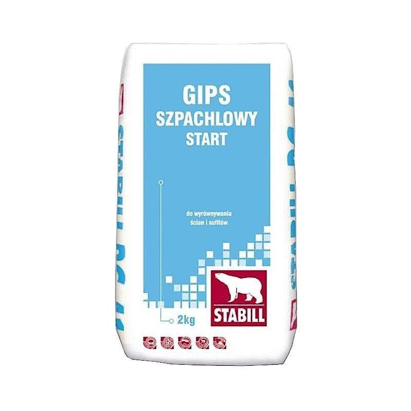 Stabill Gips szpachlowy START PW-01 2kg biały