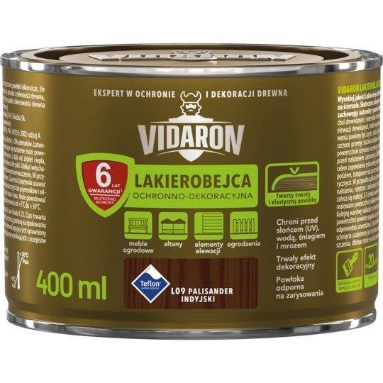 Vidaron Lakierobejca 0,4L L09 Palisander Indyjski do drewna