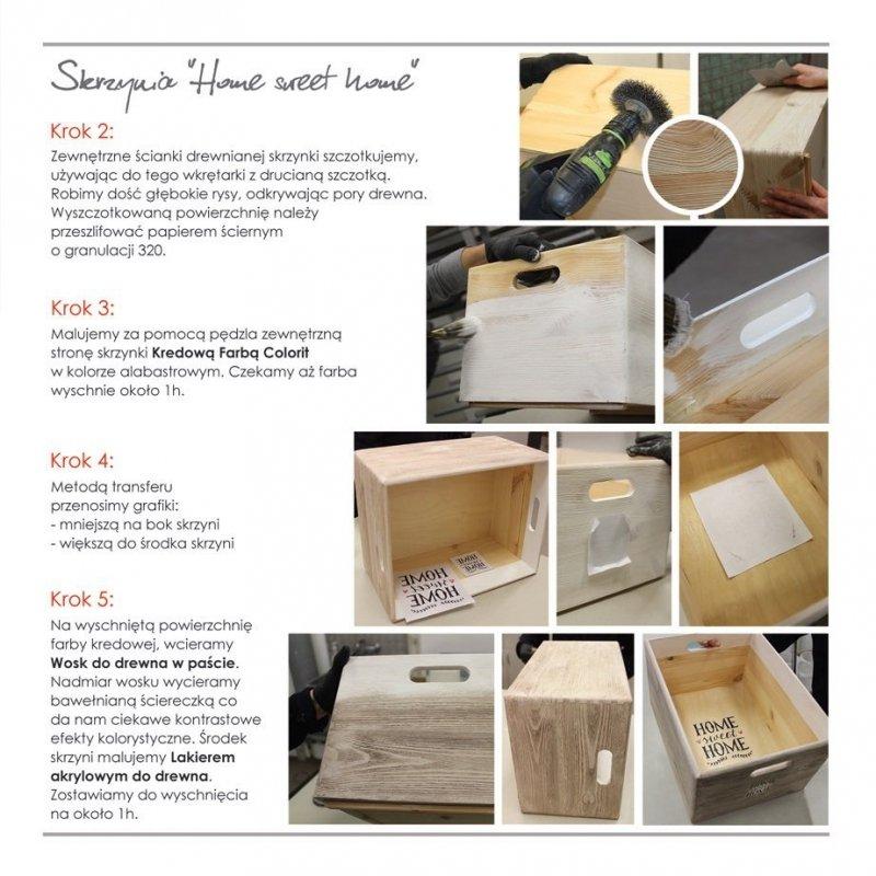 Colorit Wosk Drewna Pasta 0,5L CZEREŚNIA 500ml do