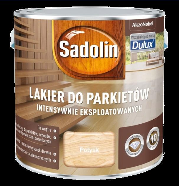 Sadolin Lakier Diamond POŁYSK 2,5L parkietu Dulux drewna