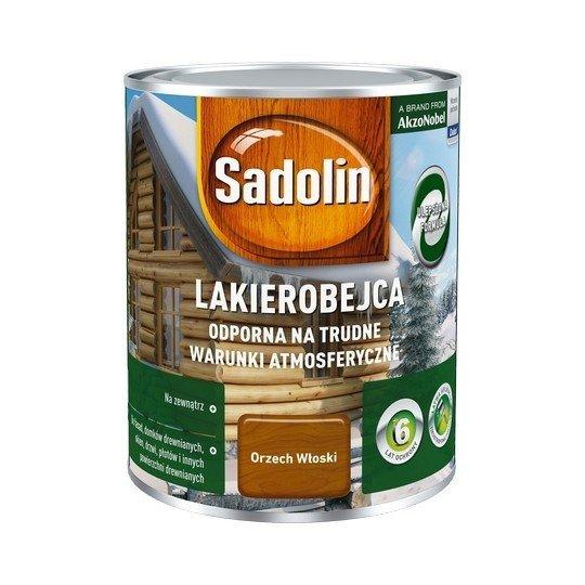 Sadolin Odporna lakierobejca 0,75L ORZECH WŁOSKI drewna