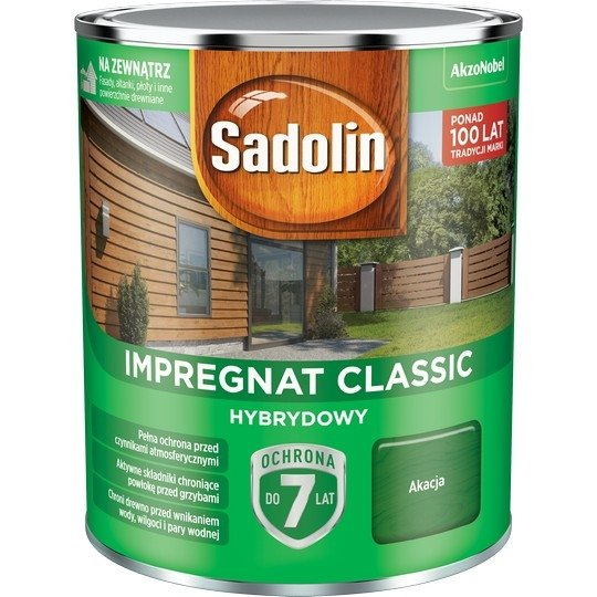 Sadolin Classic impregnat 0,75L AKACJA 52 drewna clasic