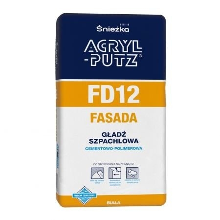 Acryl-Putz Gładź cementowo-polimerowa FASADA 2kg FD12 sypka