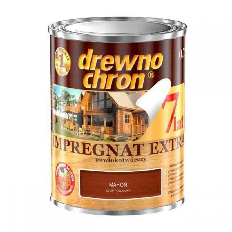 Drewnochron MAHOŃ 0,75L Impregnat Extra drewna do powłokotwórczy