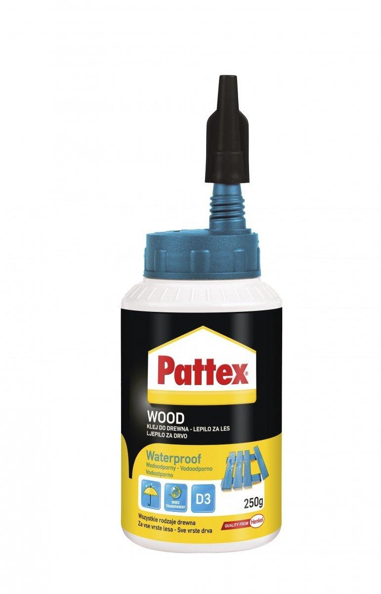 Pattex Wodoodporny klej do drewna 250g