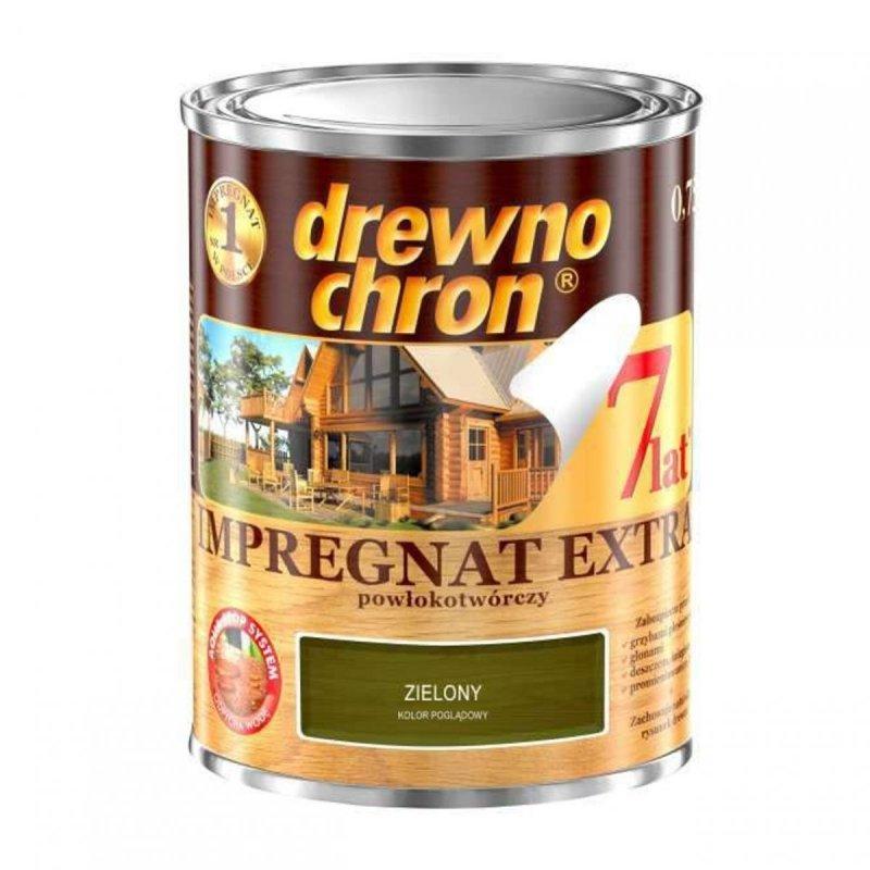 Drewnochron ZIELONY 0,75L Impregnat Extra drewna do powłokotwórczy