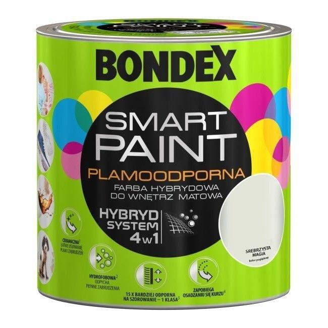 Bondex Smart Paint 2,5L SREBRZYSTA MAGIA