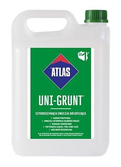 Atlas Uni-Grunt-ująca 5kg 5L emulsja mleczko do gruntowania