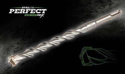 Wiertło 12x160 do betonu SDS PLUS + STALCO PERFECT POWERMAX