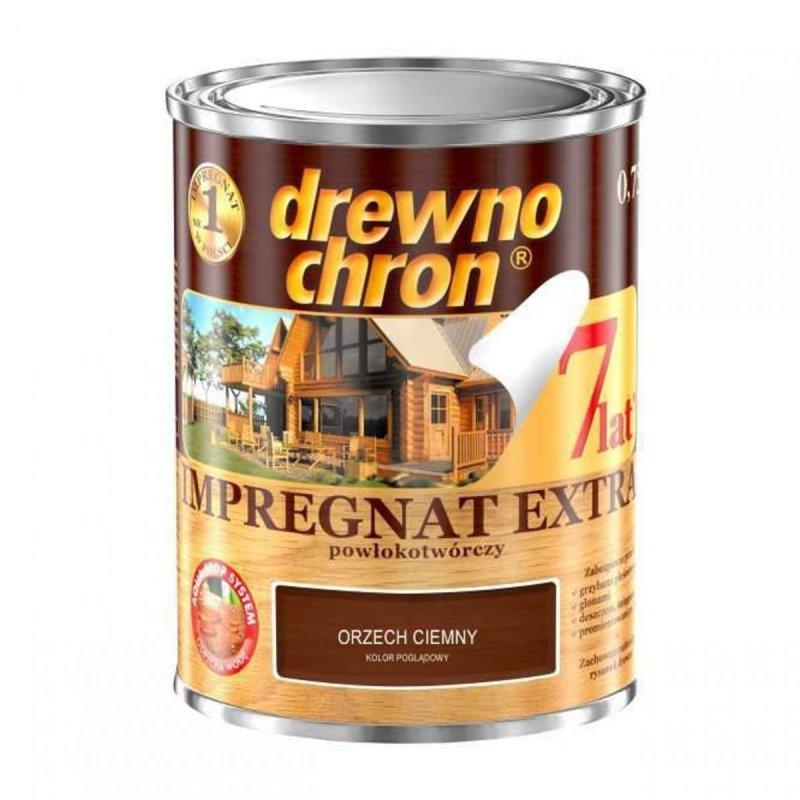 Drewnochron ORZECH CIEMNY 0,75L Impregnat Extra drewna do