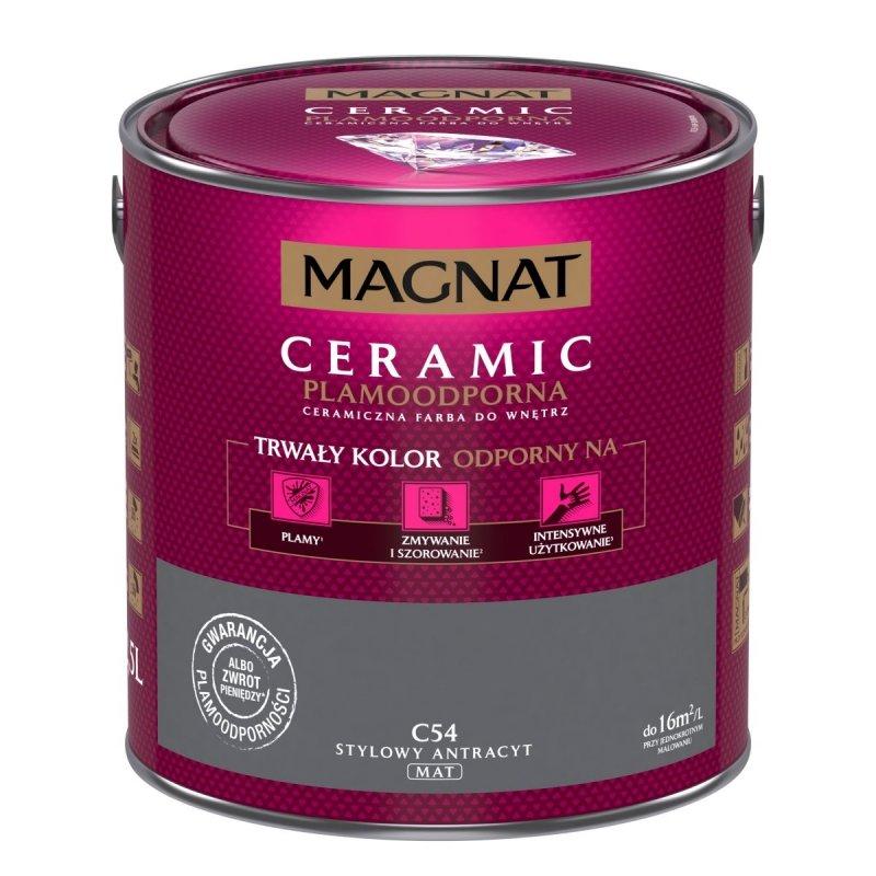 MAGNAT Ceramic 2,5L C54 Stylowy Antracyt