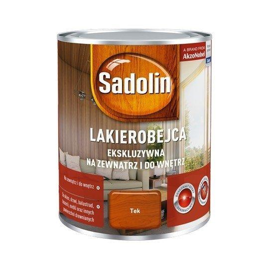 Sadolin Ekskluzywna lakierobejca 0,75L TEK TIK drewna