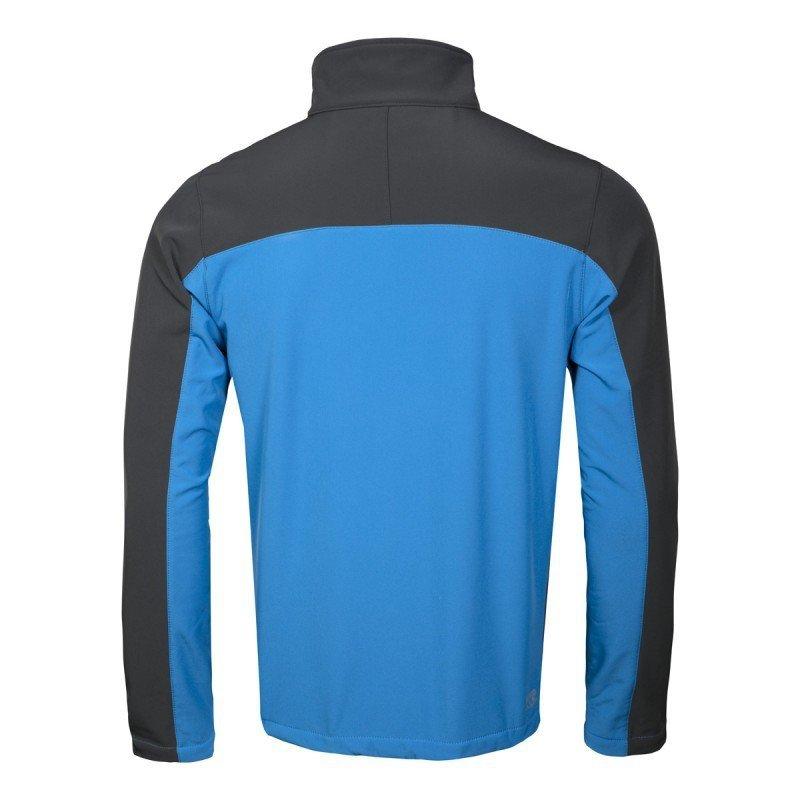 LAHTI PRO Kurtka wodoodporna M soft-shell niebiesko-szara oddychająca ochronna robocza