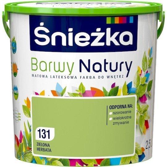 Śnieżka Barwy Natury 2,5L Zielona Herbata 131 Farba