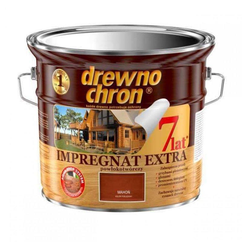 Drewnochron MAHOŃ 2,5L Impregnat Extra drewna do powłokotwórczy