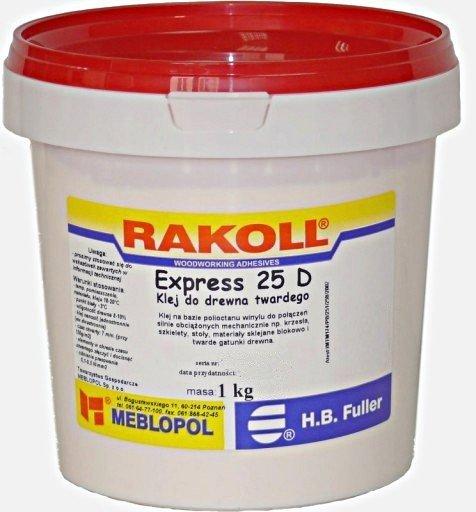 Rakoll Express 25D 1kg Klej do twardego drewna