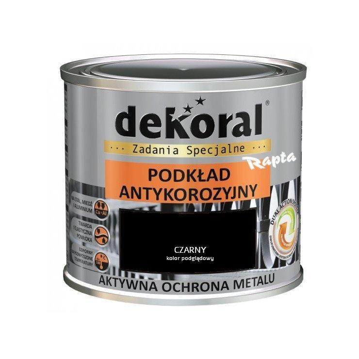 Dekoral Podkład Unikor 05l Czarny Antykorozyjny Na Rdzę