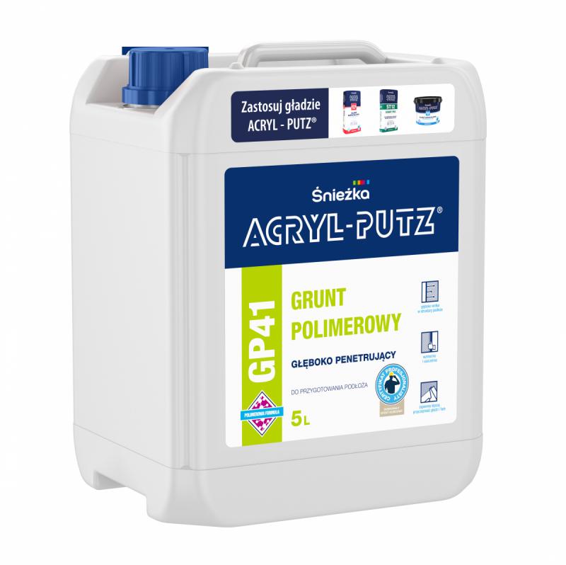 Acryl-Putz Grunt Polimerowy 5L GP41 Głęboko Penetrujący mleczko unigrunt