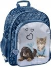Plecak Szkolny z Kotkiem Pieskiem dla Dziewczyny [RLB-090]