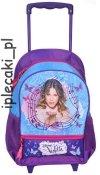 Plecak na kółkach Violetta szkolny na kółkach DVC-237