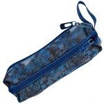 Niebieski Piórnik 3-Komorowy Młodzieżowy Szkolny dla Chłopaka [18-007BB]