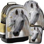 Koń na Plecaku Szkolnym dla Dziewczyny Zestaw Konie [PP19H-116]