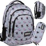 Plecak Myszka Mini Minnie BackUP Szkolny Młodzieżowy [PLB3XMM60]
