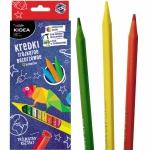 Kredki Trójkątne 12 Kolorów dla Dziecka Kidea Bezdrzewne [KTB12KA]