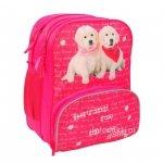 Plecak Szkolny z Pieskami PASO dziewczęcy [13-102D]