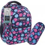 Plecak Młodzieżowy Back UP Szkolny Piórnik dla Dziewczyny [PLB1B1]