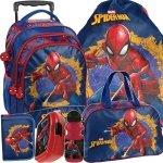 Plecak na Kółkach do Szkoły Spiderman Mega Zestaw [SPU-300]