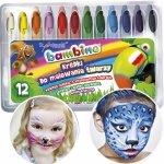 Kredki do Malowania Twarzy Bambino 12 Kolorów [5046]